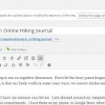 Online Hiking Journals