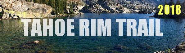 Tahoe Rim Trail Journals