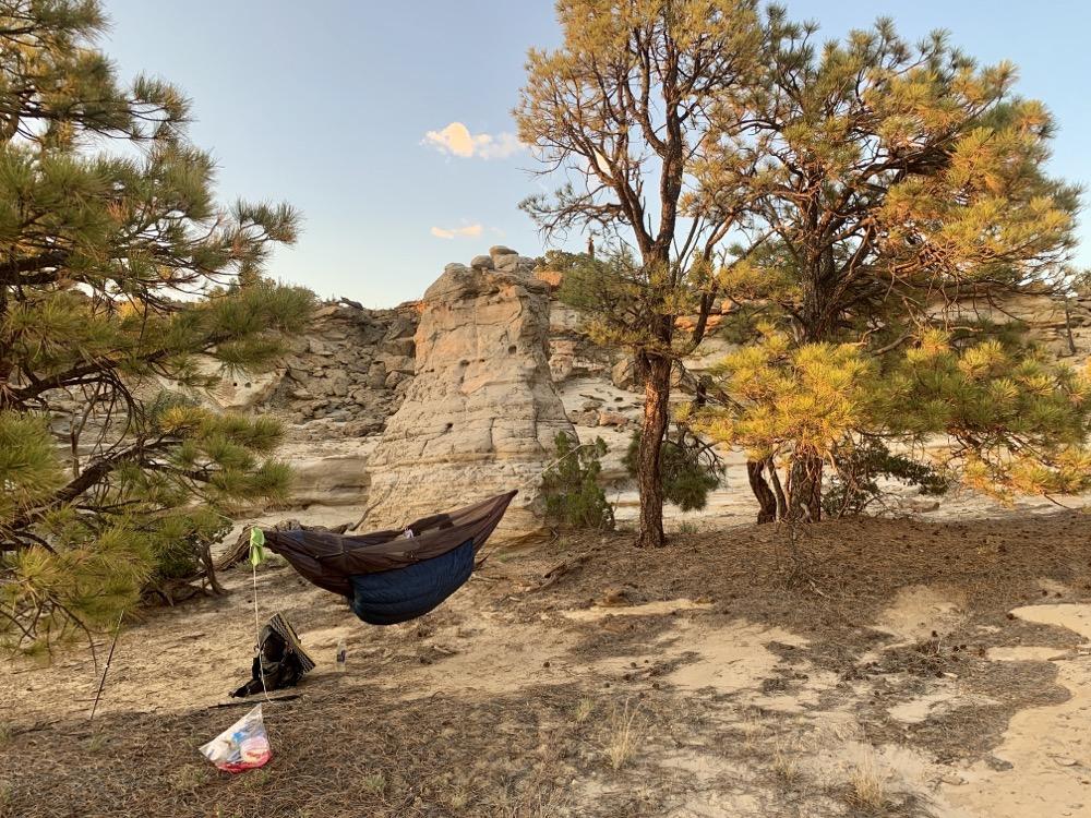 33' hammock hang